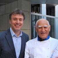 Pino Capozzi giudice d'onore nella sfida al risotto Spagna-Italia