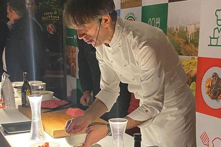 Carne certificata Made in Italy nelle mani di Oldani, cena vincente