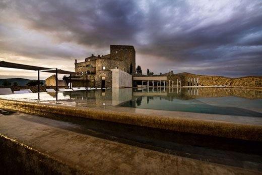 Atmosfera calda e accogliente al Castello di Velona in Val d'Orcia