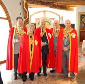 Cavalieri a tavola con amicizia A Bergamo uniti dalla polenta