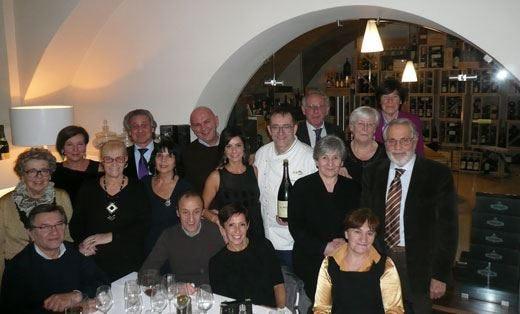 Al M1.lle Storie & Sapori la cena nataliziadei £$Gourmets Degustateurs$£ di Bergamo