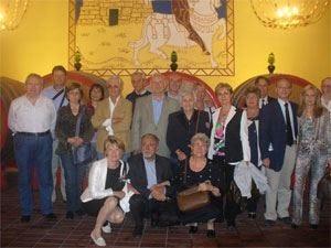 Il Cenacolo pavese del vino visita il Castello delle Regine in Umbria