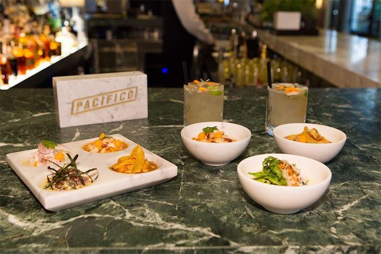 Cucina peruviana al Park Hyatt Milano con ceviche e cocktail a base di Pisco