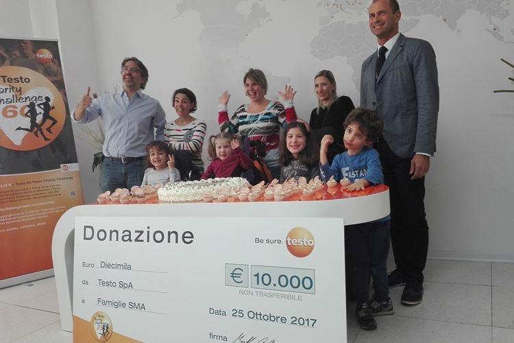 Charity Challenge per Famiglie Sma Testo Italia percorre 46.544 chilometri