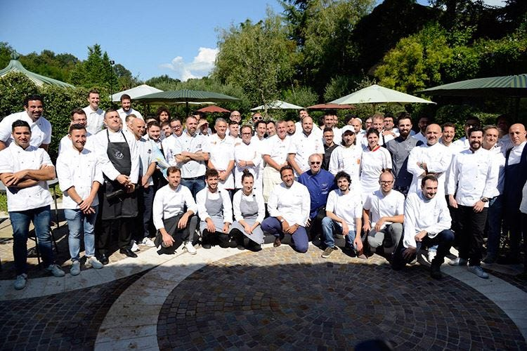 Charming italian chef... non solo cucina All'Albereta le pizze dei soci Bonci e Pepe