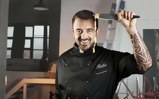 La cucina non si guarda... si fa! La teoria vincente di Chef Rubio
