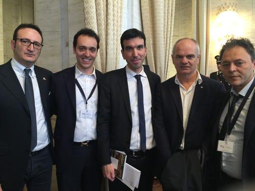 Ministeri e cuochi fanno squadra per promuovere il made in italy