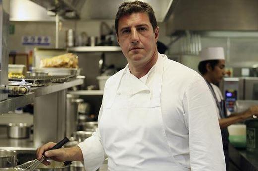 Claude Bosi nella cucina del Settembrini Una cena all'insegna della creatività