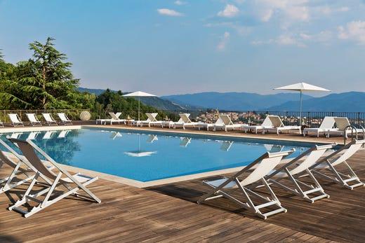 L 39 inizio dell 39 estate al renaissance tuscany un 39 oasi di for Vista sulla valle cabine colline hocking