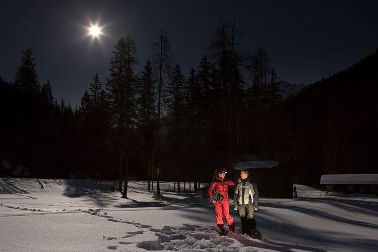Coccole in spa e ciaspolate sulla neve Momenti romantici in Val di Sole