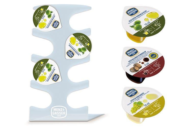CondiSnap di Menz&Gasser Nuovi condimenti monodose
