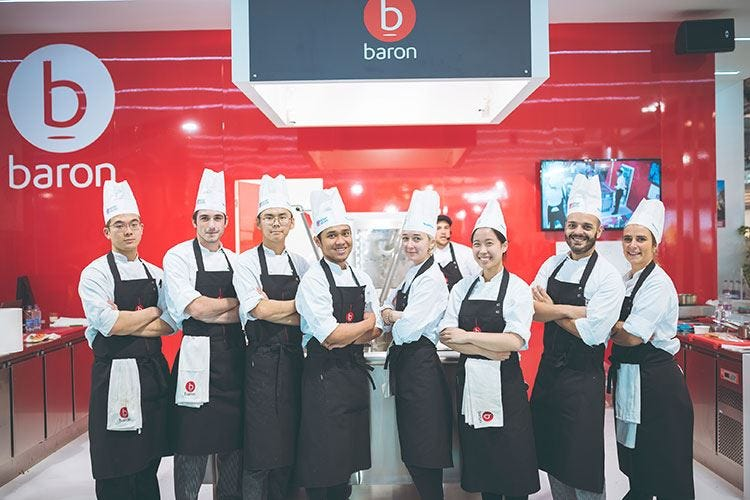 Contest di cucina con tecnologie Baron Protagonisti gli studenti di Ifse