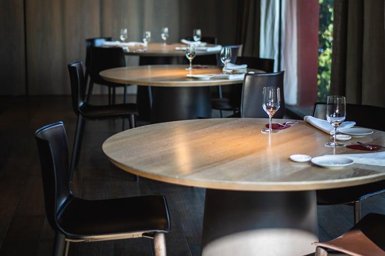 attività di ristorazione con tavoli sedie