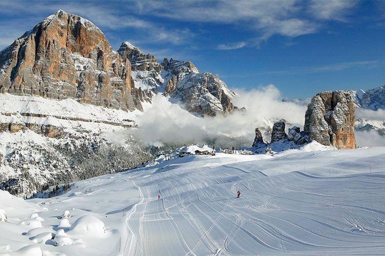 Cortina d'Ampezzo, aprono gli impianti La stagione invernale parte in anticipo