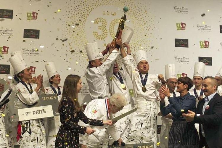 Coupe du monde de la pâtisserie Italia terza, trionfa la Malesia