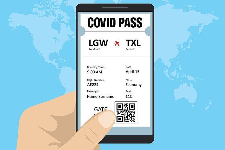 Passaporto sanitario per viaggiare: le compagnie aeree sono pronte
