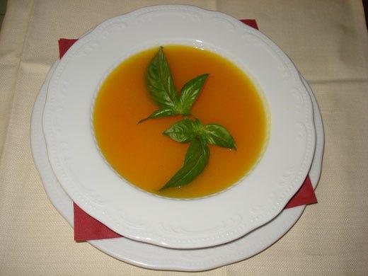 Crema di zucca gialla con farro - Italia a Tavola