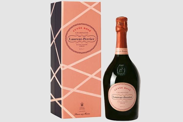 Cuvée Rosé Laurent-Perrier Dal 1968 uno stile che fa tendenza