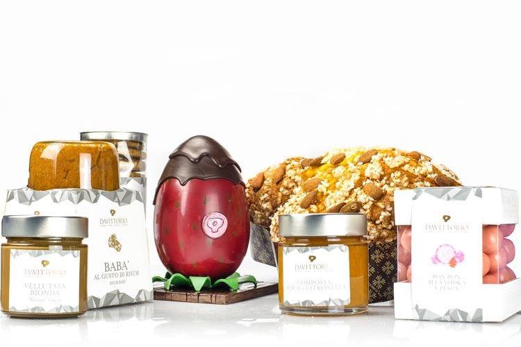 Da Vittorio rende golosa la Pasqua Colomba e uova come opere d'arte
