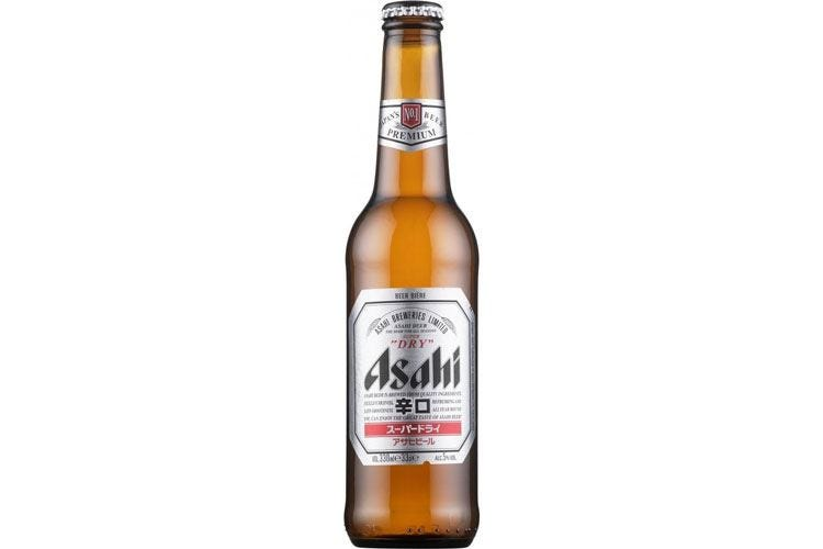 Asahi Super Dry, dal Giappone Lager dal gusto secco e pulito