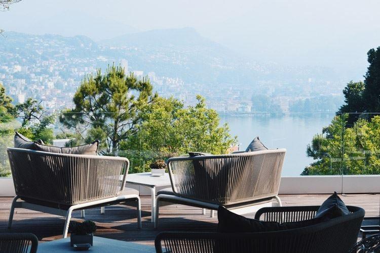 Dalle Maldive a Lugano Giacomo Gaspari al The View