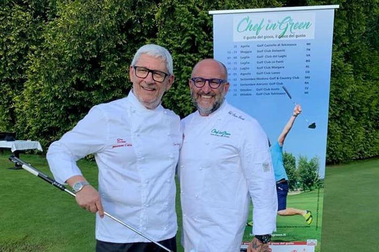 Dalle cucine ai campi da golf Chef in Green Cup, tappa a Varese