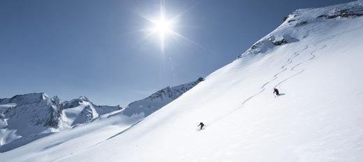 Sci in primavera sulle vette austriache nel pacchetto vacanza del Das Central