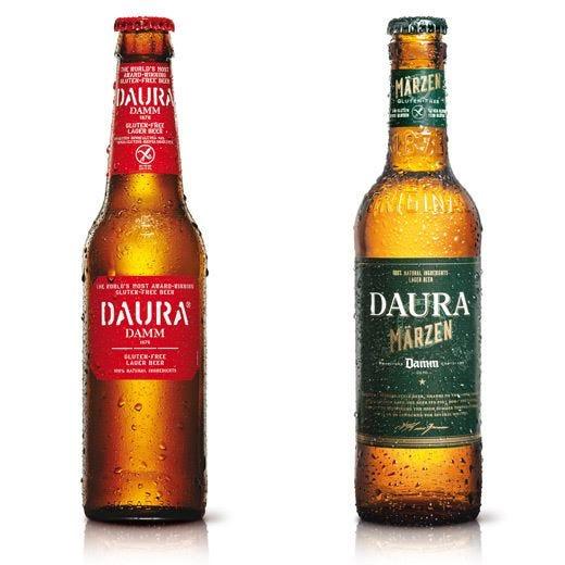 Daura, Daura Marzen e Bionade DammCon malto d'orzo, ma senza glutine