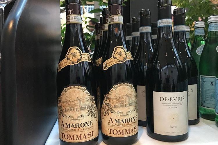 De Buris Amarone Classico Riserva Tommasi presenta la prima annata