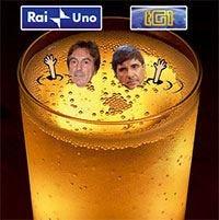 Dopo Rai1 anche il Tg1 nella bufera Champagne vs Spumante