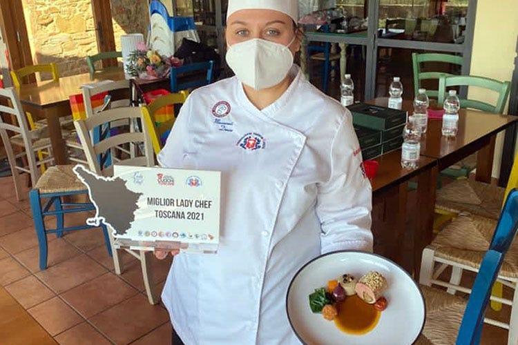 Lady Chef della Toscana: vince Denise Massarenti