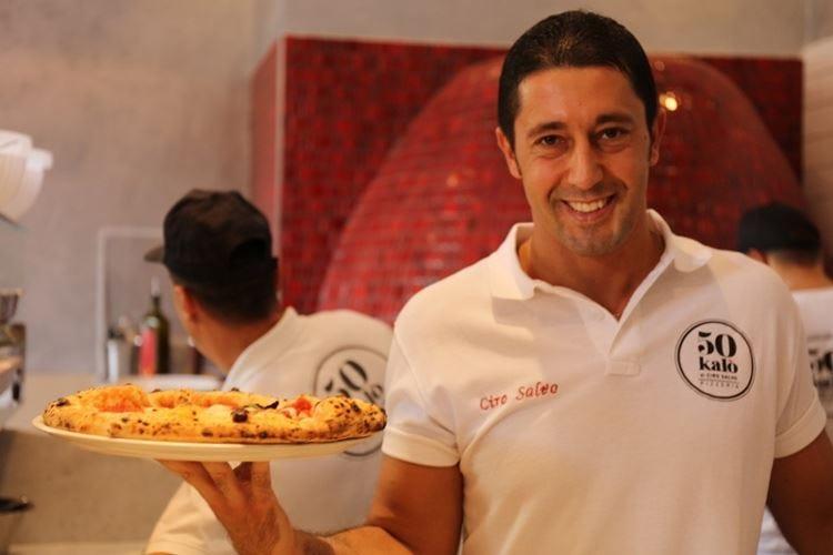 Una cena per i 10 anni di EatalyCiro Salvo unico pizzaiolo tra gli chef