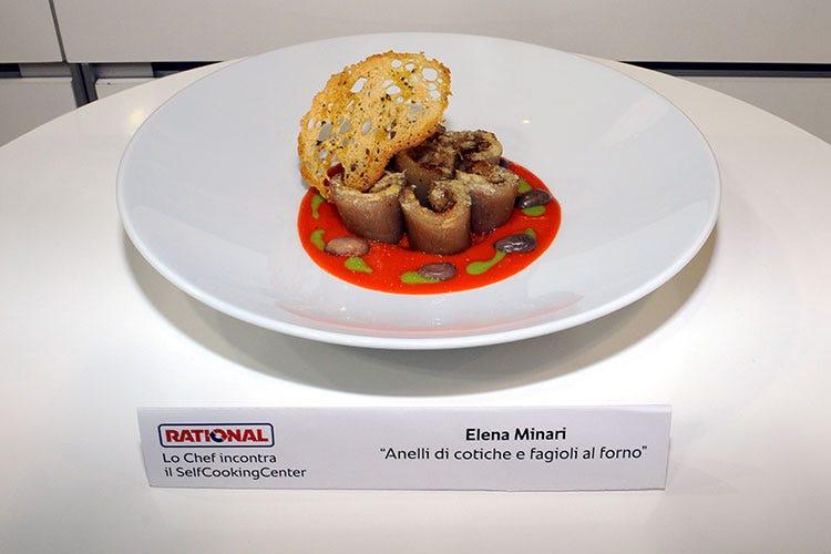 Anelli Di Cotiche E Fagioli Al Forno (Elena Minari, La Miglior Cucina  Regionale La