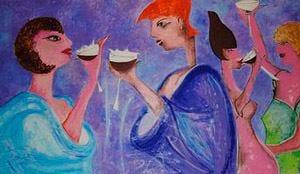 Enoteca Viola stuzzica non solo l'appetitoAperitivi in rosa tra malizia e buon vino