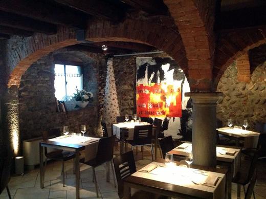 alcuni ristoranti bergamaschi ad oggi 42 si sono uniti nel progetto trentacinqueuroit che prevede un pranzo e una cena vino e caff compresi