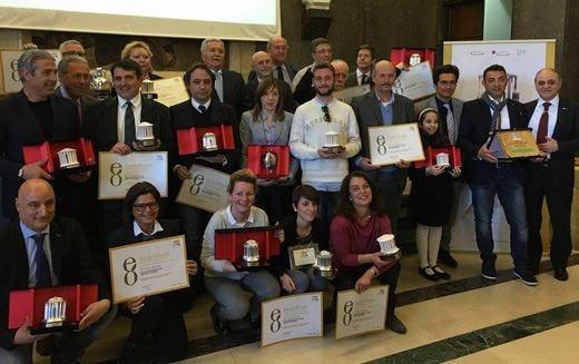 Gli oli dell'Umbria e del Lazio trionfano al concorso Ercole Olivario