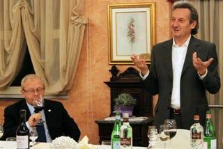 Ernesto Mantegazza e Alessandro Francoli