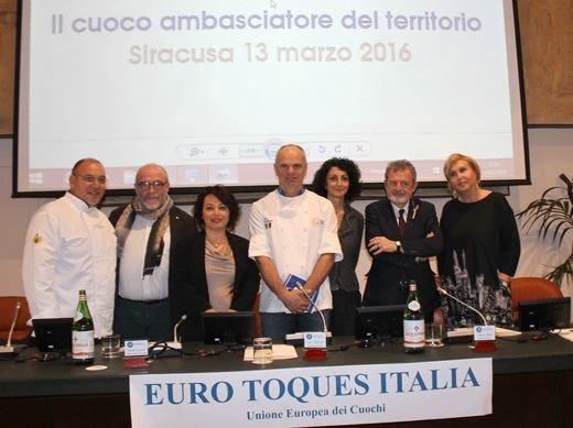Alta ristorazione italiana a Siracusa Successo per la Guida Euro-Toques