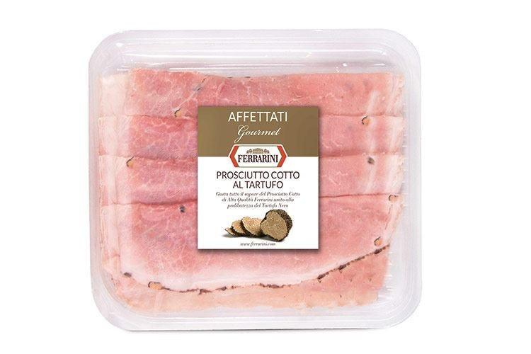 Natale, la linea gourmet Ferrarini Cotto e mortadella... al tartufo