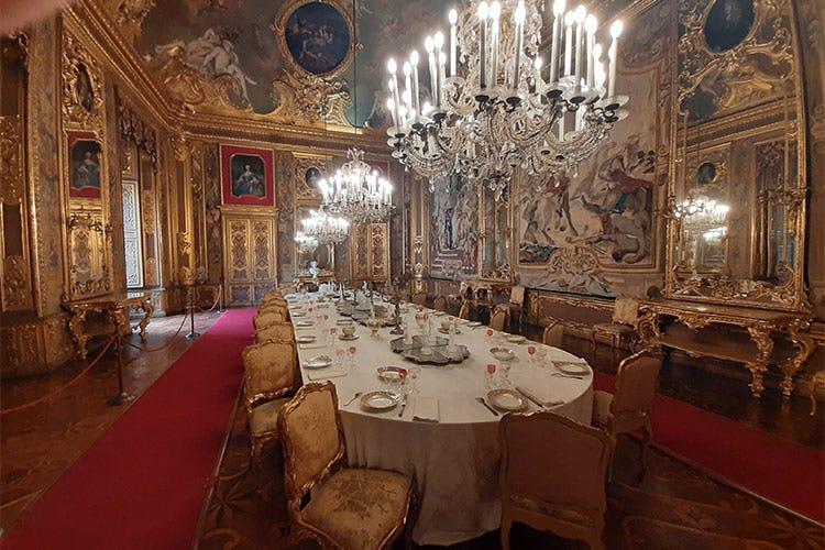 La Sala da Pranzo all'interno di Palazzo Reale - A spasso per Torino, città vivace e regale