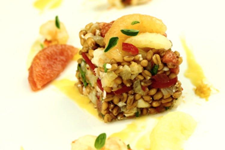 Farro gambero rosso e citronette di pompelmo italia a for Ricette gambero rosso