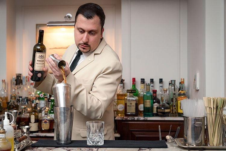 Federico Pempori, barman per passione «Ci vuole conoscenza, ma anche umanità»