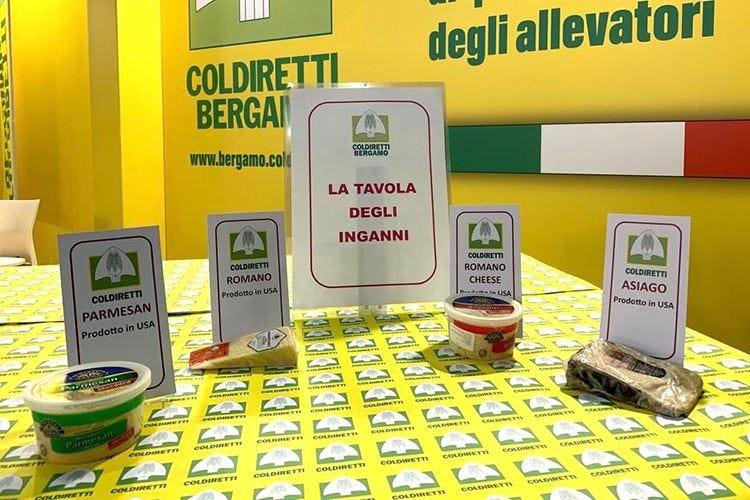"Finti formaggi italiani A Bergamo la ""tavola degli inganni"""