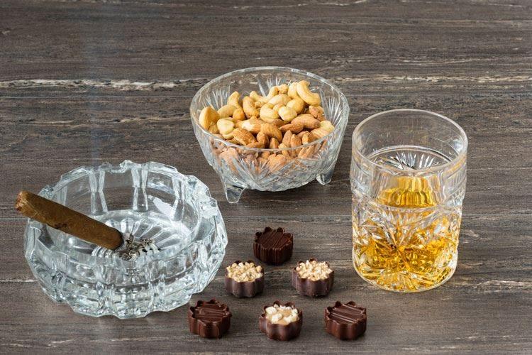 A Firenze una cena di vizi Cioccolato, sigaro e rum nel menu