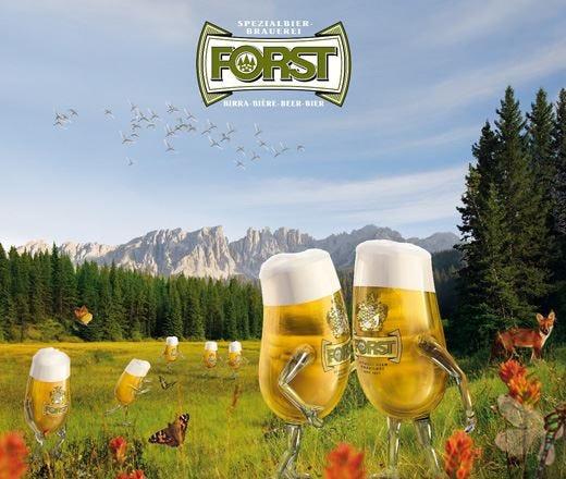 Birra Forst, qualità dall'Alto Adige Nuova campagna di comunicazione