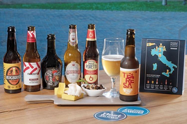 Al Four Points by Sheraton un mese a tutta… birra