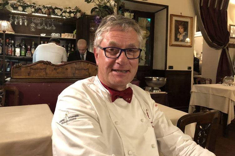 Fournier, dalla Francia per amore Il suo locale, tempio del foie gras