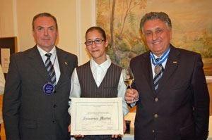 Chef de rang Amira: vince la giovane Francesca Marini del Ristorante Cristallo