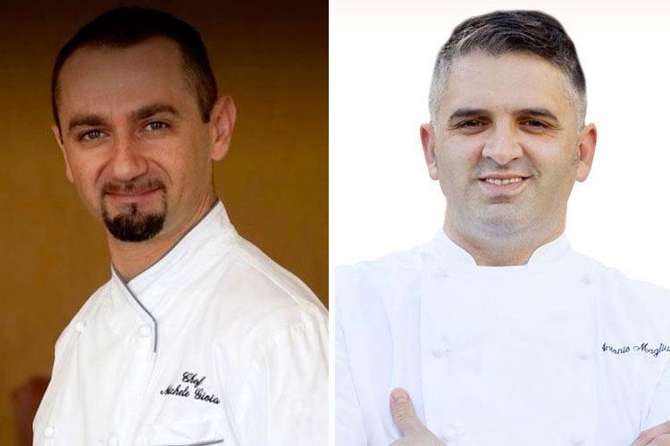 Friends in the kitchen al Pellicano Hotel Una serata con gli chef Gioia e Magliulo