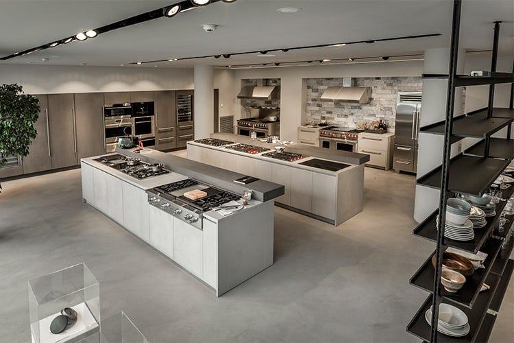 Cucine con frigo americano good cucina ad angolo with cucine con frigo americano best cucina - Cucine wolf italia ...